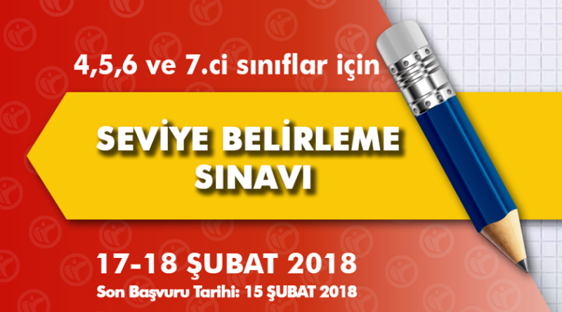 SEVİYE BELİRLEME SINAVI